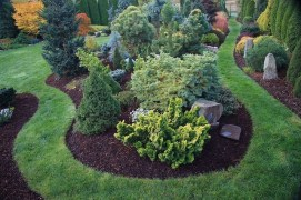 Clever & Beautiful Yard Island Landscaping for Backyard and Front yard 22