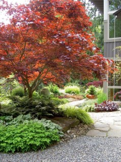 Clever & Beautiful Yard Island Landscaping for Backyard and Front yard 29