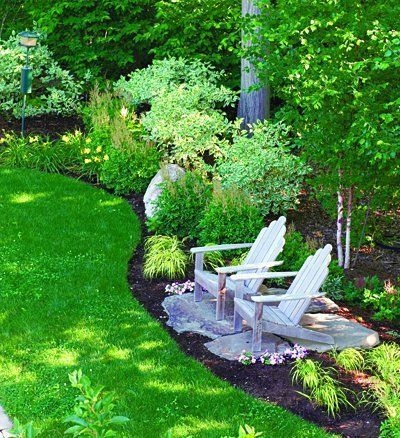 Clever & Beautiful Yard Island Landscaping for Backyard and Front yard 47
