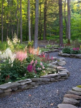 Clever & Beautiful Yard Island Landscaping for Backyard and Front yard 50