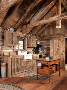 Cozy DIY for Rustic Kitchen Ideas 23