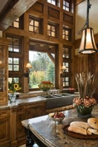 Cozy DIY for Rustic Kitchen Ideas 26