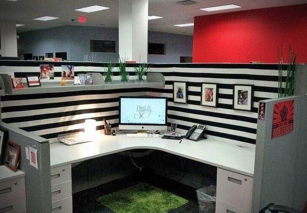 Cubicle Workspace Decorating Ideas 07