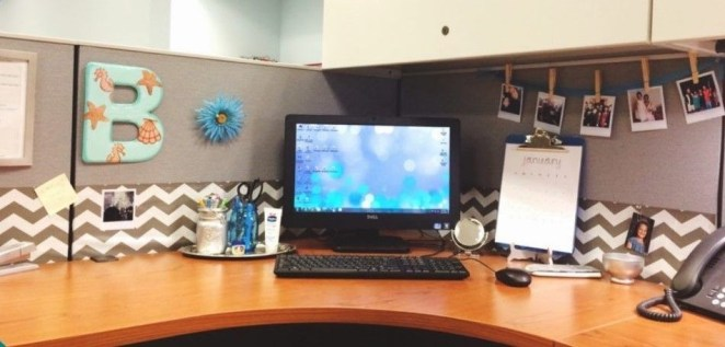 Cubicle Workspace Decorating Ideas 14