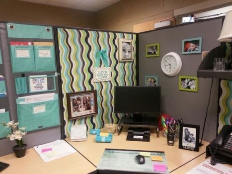 Cubicle Workspace Decorating Ideas 29