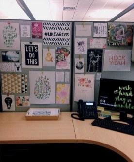 Cubicle Workspace Decorating Ideas 39