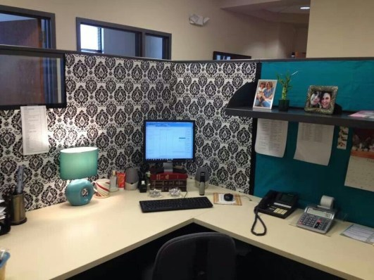 Cubicle Workspace Decorating Ideas 44