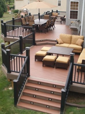 DIY Patio Deck Decoration Ideas on A Budget 03