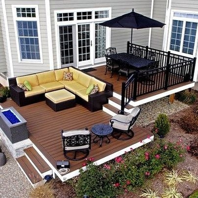 DIY Patio Deck Decoration Ideas on A Budget 05