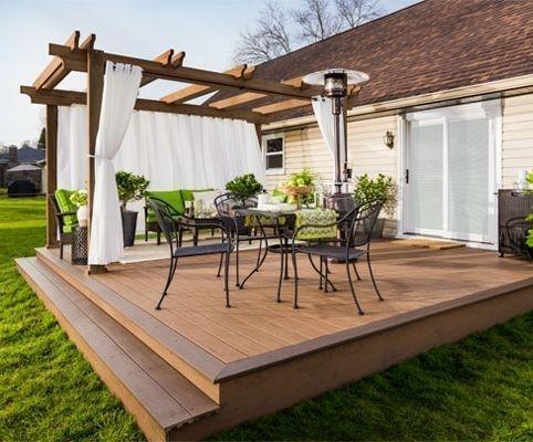 DIY Patio Deck Decoration Ideas on A Budget 13