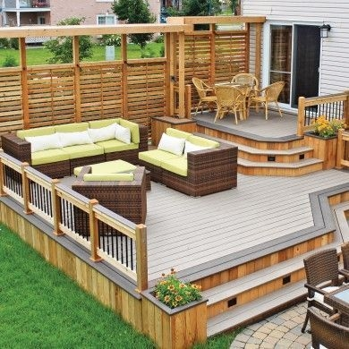 DIY Patio Deck Decoration Ideas on A Budget 26