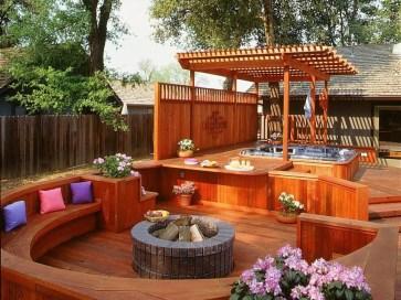DIY Patio Deck Decoration Ideas on A Budget 30