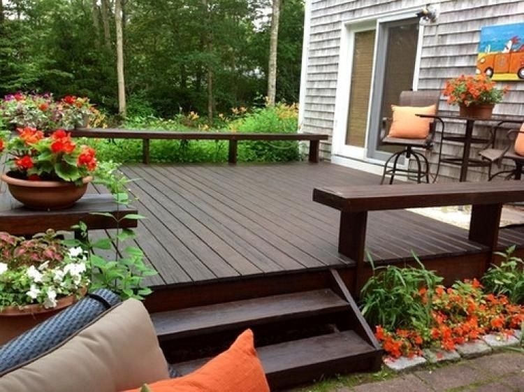 DIY Patio Deck Decoration Ideas on A Budget 41