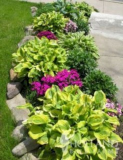 Easy And Low Maintenance Front Yard Landscaping Ideas 52