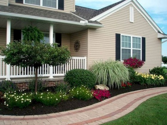 Examples Landscaping Ideas You can Put in House Page 46