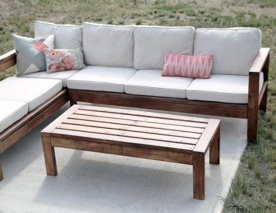 Inspiring DIY Outdoor Furniture Ideas 04