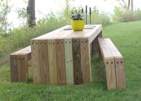 Inspiring DIY Outdoor Furniture Ideas 16