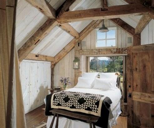 Outstanding Rustic Master Bedroom Decorating Ideas 15