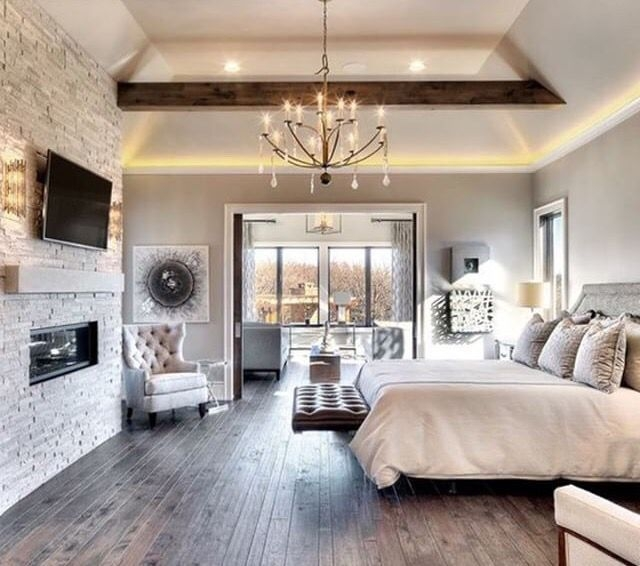 Outstanding Rustic Master Bedroom Decorating Ideas 25
