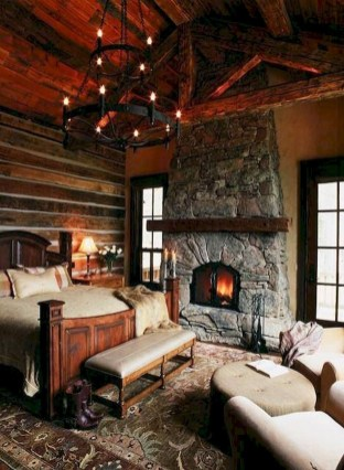 Outstanding Rustic Master Bedroom Decorating Ideas 40
