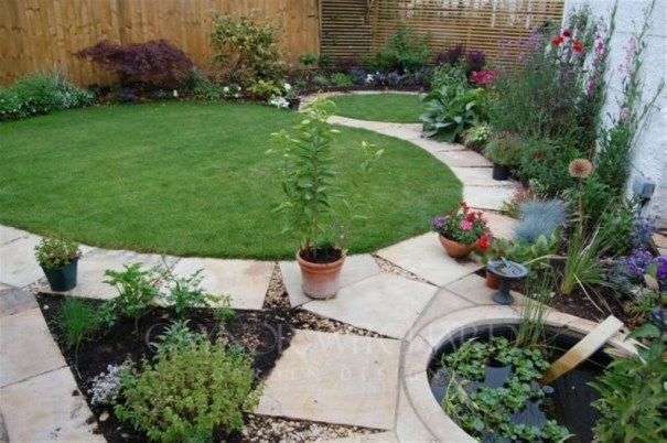 Small Garden Design Ideas With Awesome Design 20