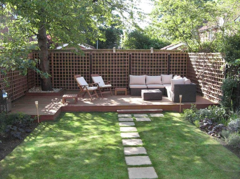 Small Garden Design Ideas With Awesome Design 27