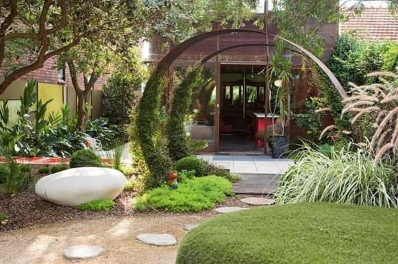 Small Garden Design Ideas With Awesome Design 33