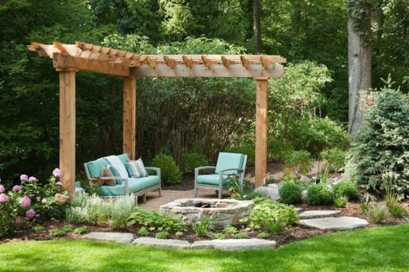 Small Garden Design Ideas With Awesome Design 52
