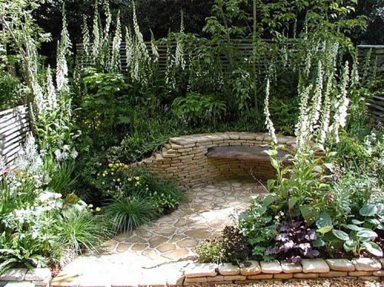 Small Garden Design Ideas With Awesome Design 54