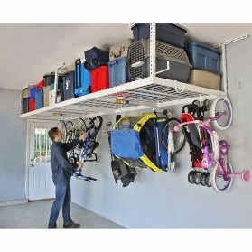Amazing DIY and Hack Garage Storage Organization 01