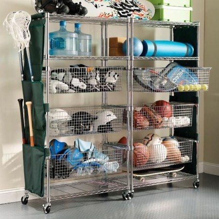 Amazing DIY and Hack Garage Storage Organization 10