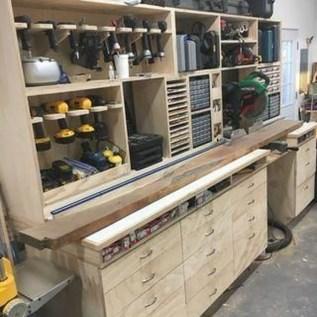 Amazing DIY and Hack Garage Storage Organization 21