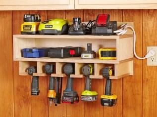 Amazing DIY and Hack Garage Storage Organization 22