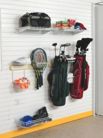 Amazing DIY and Hack Garage Storage Organization 30