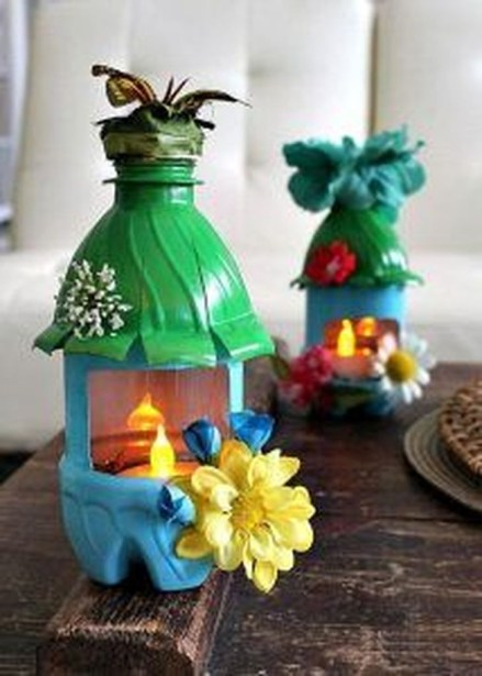 Amazing Ways to Reuse and Recycle Empty Plastic Bottles For Crafts 38