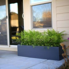 Amazingly Creative Long Planter Ideas for Your Patio 05