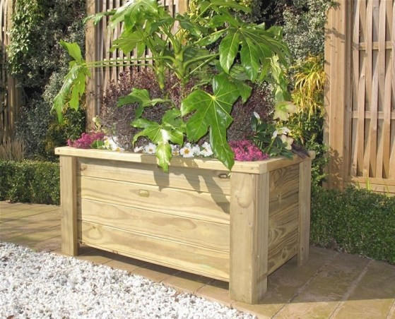 Amazingly Creative Long Planter Ideas for Your Patio 14