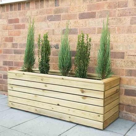 Amazingly Creative Long Planter Ideas for Your Patio 21