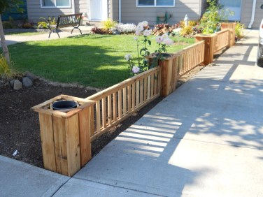 Amazingly Creative Long Planter Ideas for Your Patio 34