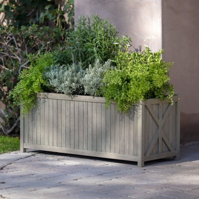 Amazingly Creative Long Planter Ideas for Your Patio 41