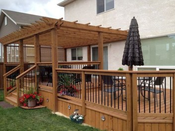 Awesome Backyard Patio Deck Design and Decor Ideas 02
