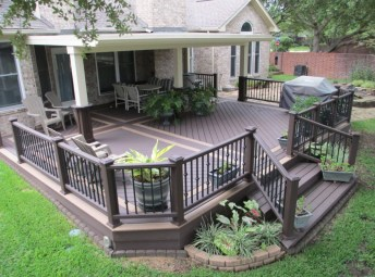 Awesome Backyard Patio Deck Design and Decor Ideas 13