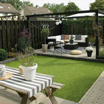Awesome Backyard Patio Deck Design and Decor Ideas 20