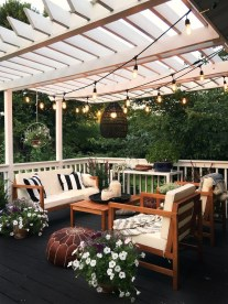 Awesome Backyard Patio Deck Design and Decor Ideas 25