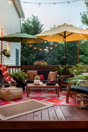 Awesome Backyard Patio Deck Design and Decor Ideas 41