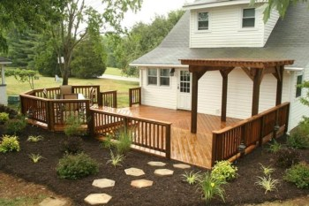 Awesome Backyard Patio Deck Design and Decor Ideas 46