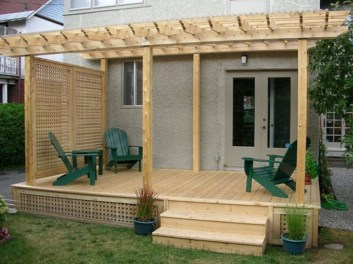 Awesome Backyard Patio Deck Design and Decor Ideas 52
