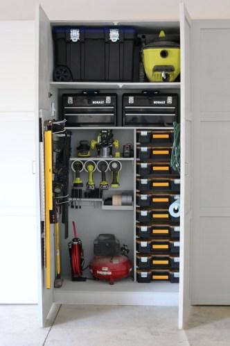 Best DIY Garage Storage with Rack 05