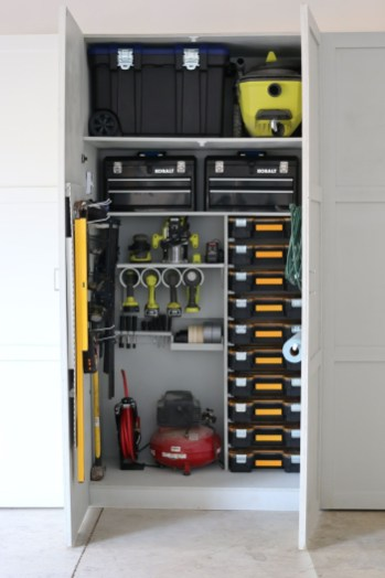 Best DIY Garage Storage with Rack 05