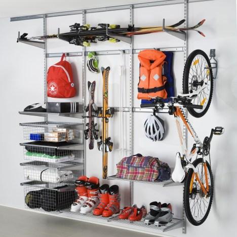 Best DIY Garage Storage with Rack 07